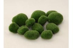 12 Sassi Sintetici Muschiati Verdi