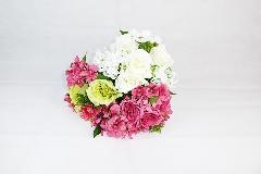 Bush Rose/Cosmos/Ortenzia 25x30 Cm Fiori Artificiali Bouquet Mazzi