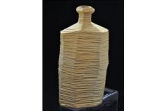 Vaso Bottiglia Ceramica Perlato 40x21