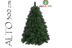 Albero Di Natale Pino Boston Cm 300 Tips 4200 Base Cm 220