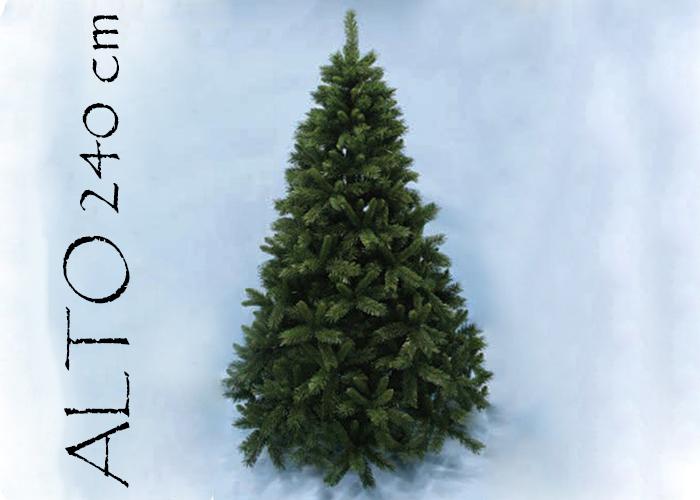 Albero Di Natale Pino Sweden Cm 240 Tips 1153 Base Cm 152