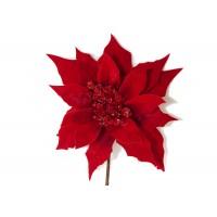 Pick Stella Velluto Rossa Cm 25