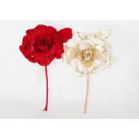 Pick Rosa Vellutata Glitter