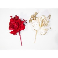Pick Rosa Vellutata Bacche Glitter