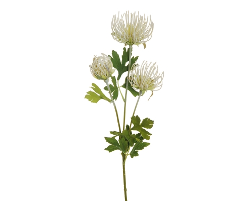 Ramo Artificiale Cordifolium 3 Fiori Decorativi