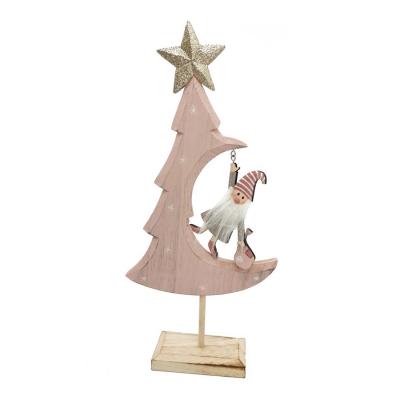 Albero Babbo Appeso H. 40 Grande Natale Decorazione