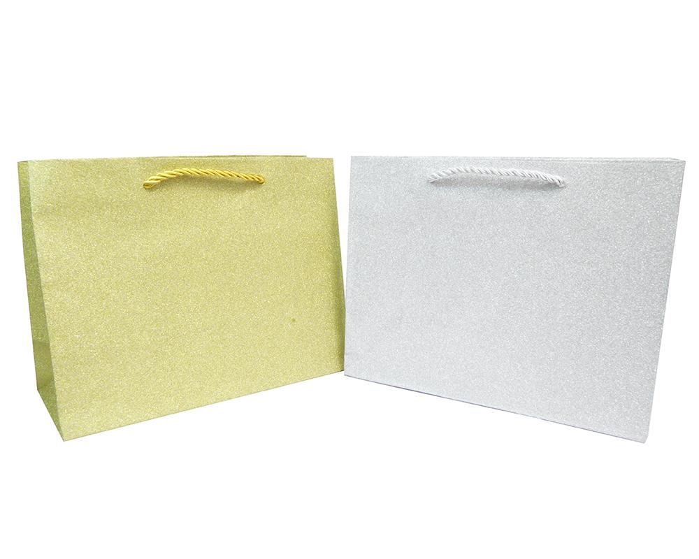 Shopper Glitter Bags 23x10x18 Pz 10