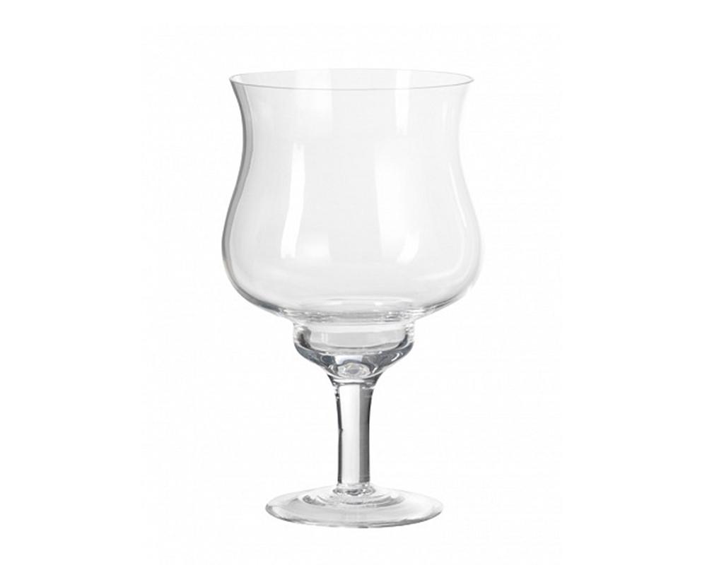 Coppa In Vetro D. 14 H. 30 Vasi Contenitori E Decorazioni