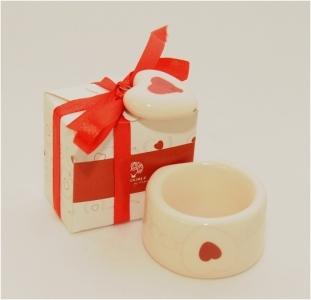 Zuccheriera Ceramica 10 Cm Linea mandorle