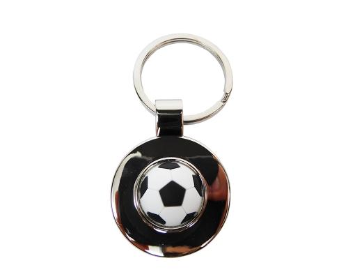 Portachiavi Gomma/metallo Calcio Applicazione