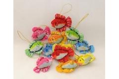 12 Pesci Colorati In Carta