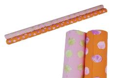 Bobina Perlata Colorata Fantasia Sfere 1x25 Mt Decorazione Addobbi Incarti Regalo