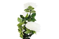 Ramo Rosa Gigante Bianca Cm H.120 Fiori Artificiali Per Composizione Wedding