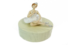 Ballerina Glitter Carillon H. 12