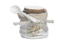 Barattolo Con Cucchiaio Home Royal Gift