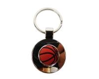 Portachiavi Gomma/metallo Basket Applicazione