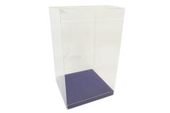 10 Scatole Trasparenti Fondo 15x15x25