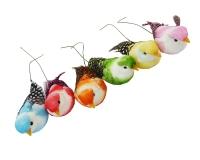 Uccellini Decorativi Cm 7 Pz 6 Linea Primavera Pasqua