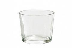 Bicchierino In Vetro Porta Tea Light D.5.7 H 6.8 Cm Decorazione Arredo