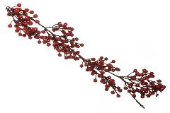 Ghirlanda Bacche Cm 137 Decorazione Natalizia