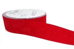 Nastro Velluto Rosso Mm 40 Mt 20 Decorazione Confezionamento Natale