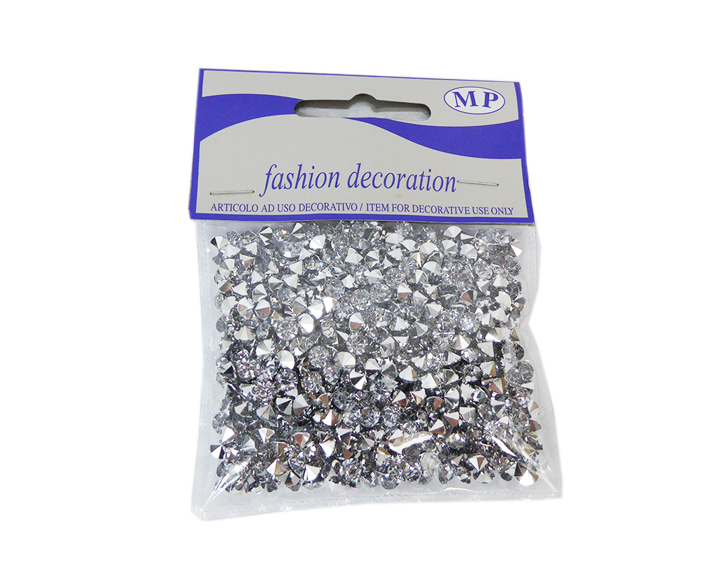Diamantini D 6 Mm Gr 50 Argentati Decorazione Arredo Wedding