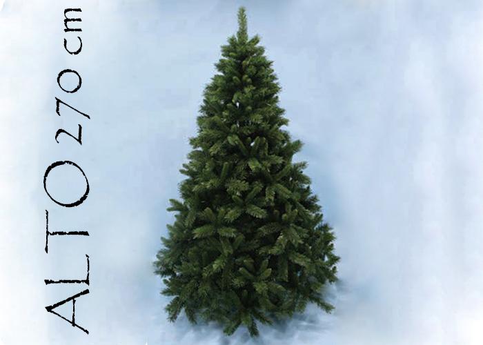 Albero Di Natale Pino Sweden Cm 270 Tips 2241 Base Cm 172